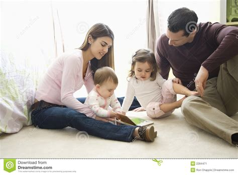 with children parents and children stock image image of family
