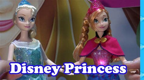 disney princess dolls toy fair preview youtube
