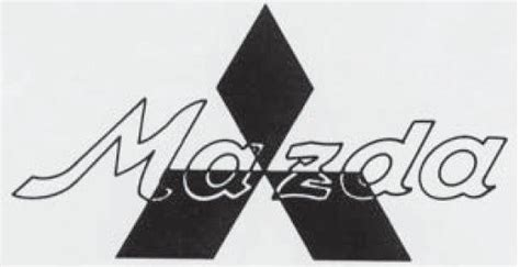 old mazda logo mazda logo photo pictures