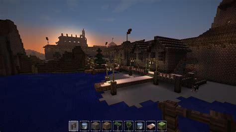 minecraft boat town minecraft medieval town dock by homunculus84 on deviantart