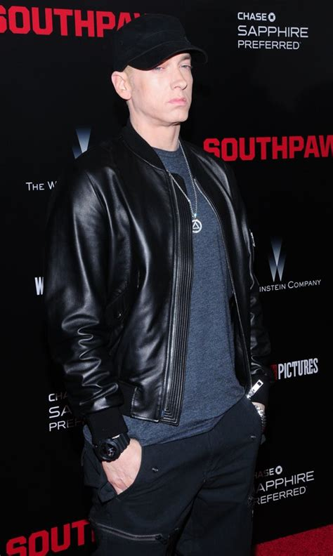 eminem new film clip eminem picture 67 new york premiere of southpaw for the