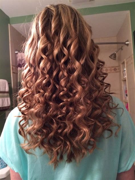 how to get small curls without perming spiral curls for prom jpg 736 215 981 hair pinterest