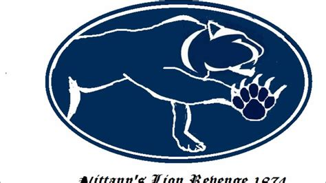 mountain cat comming penn state colors  nittany lions emblems  mountian stance  cougar