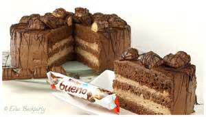 kinderbueno kuchen kinder bueno torte evasbackparty