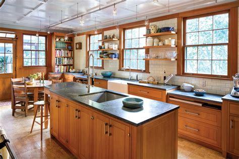 modern craftsman kitchen  house journal magazine