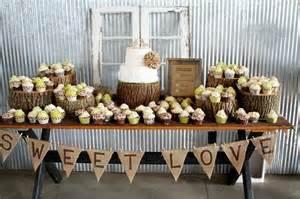 rustic cake table wedding stuff sweet