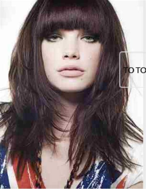 layered hairstyles definition 17 best images about fringe on pinterest zooey deschanel