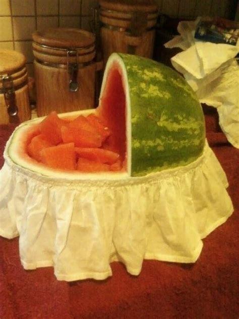 watermelon bassinet  fruit dessert food decoration