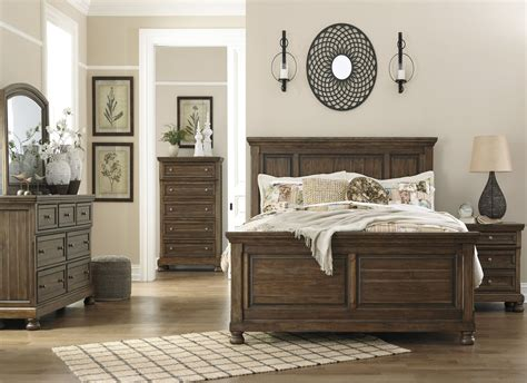 Coleman Furniture Bedroom Sets by Flynnter Medium Brown Panel Bedroom Set From