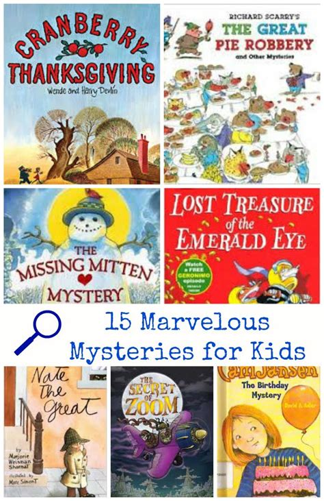 mystery picture book be a detective 15 marvelous mystery books for