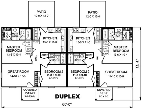 Two Story Duplex Floor Plans by Small 2 Story Duplex House Plans Search Duplex