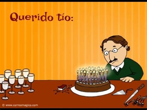 imagenes graciosas de cumpleaños para un tio feliz cumplea 241 os t 237 o youtube
