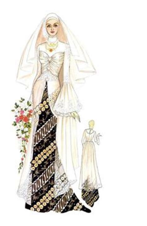 desain dress batik untuk perpisahan 1000 images about l cartoonmuslimah l on pinterest