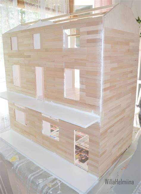 dollhouse outside how to make dollhouse outside planking dollhouse is