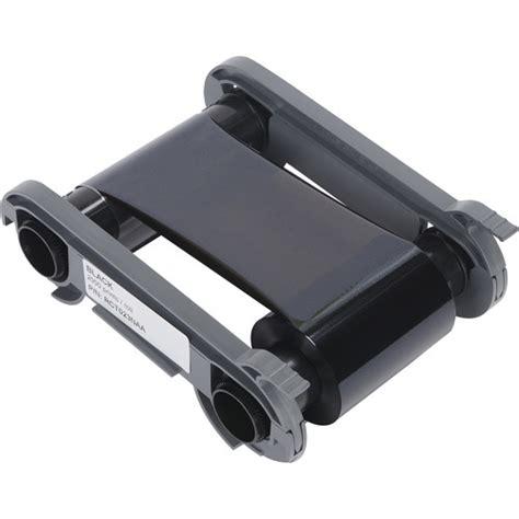Monochrome Black Ribbon 2000 Image Print For Matica Espresso evolis black monochrome ribbon for select printers rct023naa b h
