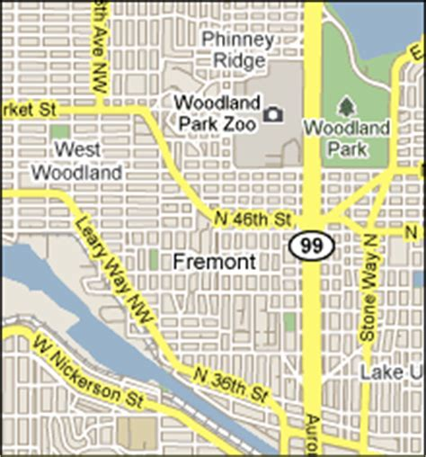 seattle map fremont fremont and wallingford locksmith service 206 317 7450