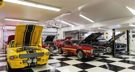 Detached Car Garage by Car Collector S Dream Garage Pricey Pads