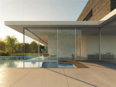 narrow line sliding door nanawall unveils ultra high end minimal sliding glass