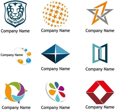 corporate logo templates vector logo templates free vector in encapsulated