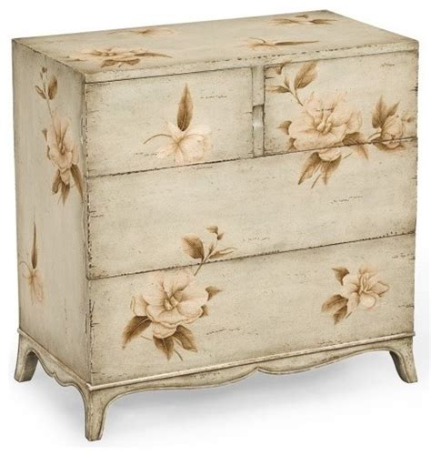 hand painted floral chest of drawers jonathan charles hand painted floral chest of drawers
