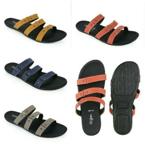 Sendal St Yves by St Yves Three Ban Sandal Wanita Shopee Indonesia