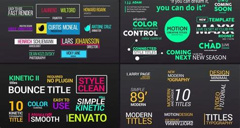 20 Best After Effect Templates Collection Of 2017 Top After Effects Templates