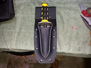 make your own kydex sheath make your own kydex digger sheath