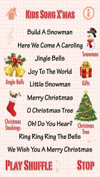 childrens christmas songs list songs madinbelgrade