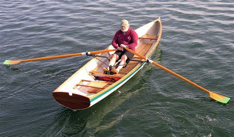 racing rowboat peregrine wherry rowboat built by salt pond rowing for