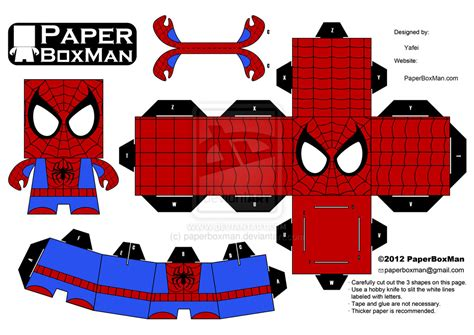 Spider Papercraft - paperboxman 005 spider by paperboxman on deviantart