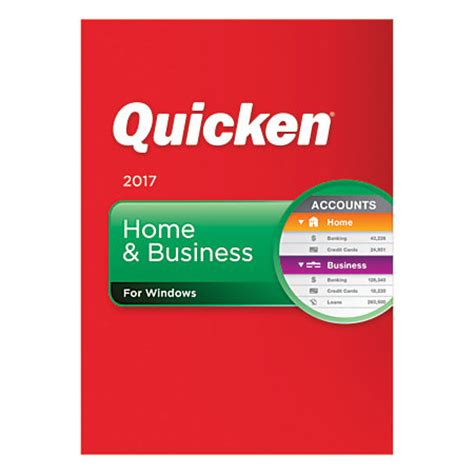 quicken home business 2017 traditional disc by office