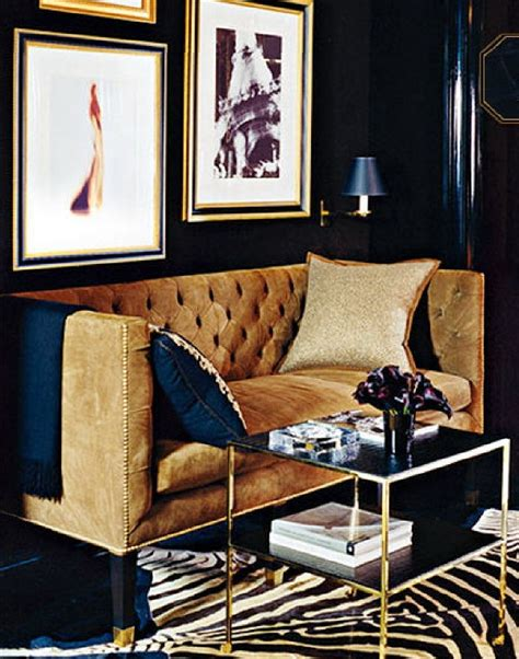 blue and gold living room color inspiration navy blue walls sheri martin interiors