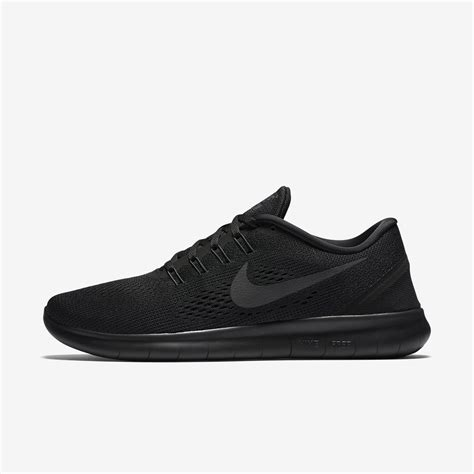 Nike Free Running Black nike free rn black black s shoes alton sports