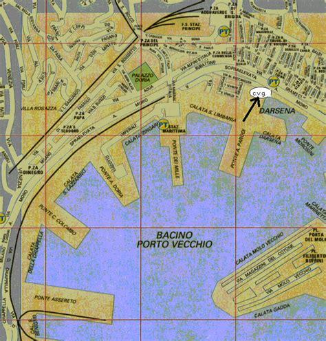 mappa porto di genova croceverdegenovese chisiamo
