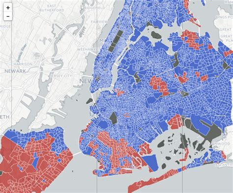 here s how every nyc neighborhood voted in the 2016