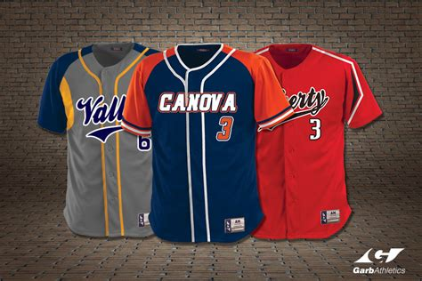 design baseball uniform jersey custom baseball jerseys garb athletics