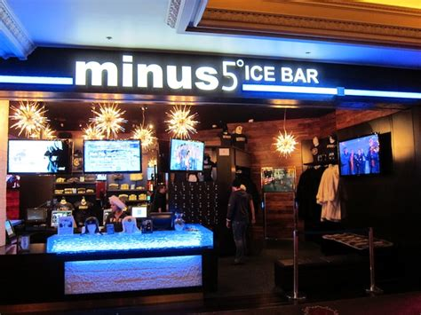 roof top bars las vegas minus 5 ice bar a cool las vegas experience drink spirits