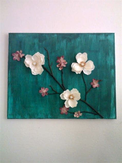 make flower painting 3d flower painting artsy fartsy