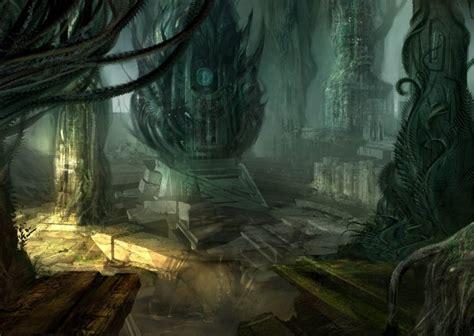 alien exotic forest audio atmosphere