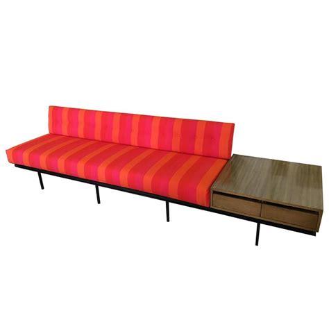 vintage knoll sofa florence knoll sofa with vintage alexander girard stripe