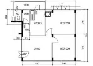 hdb floor plans sit redhill close 3 room flat 63 sqm
