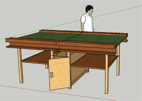 building a gaming table a folding gaming table forum dakkadakka
