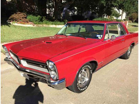 Pontiac Gto Sale by 1965 Pontiac Gto For Sale Classiccars Cc 901540