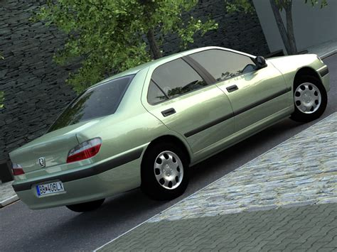 peugeot car models list peugeot 406 1996 3d model buy peugeot 406 1996 3d
