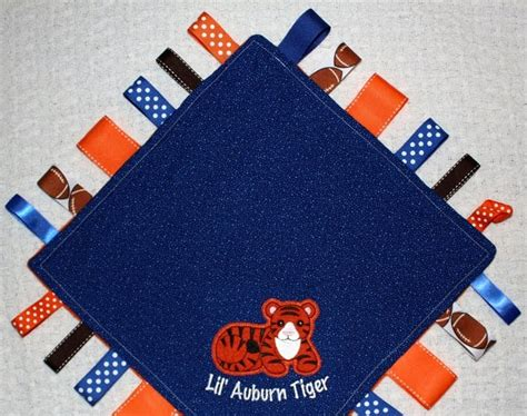 gifts for auburn fans stitched by janay baby gift for auburn fans