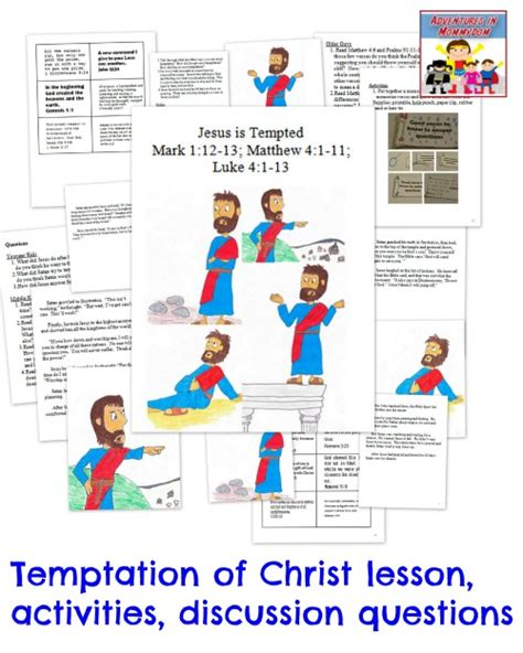 sunday school lessons on the teachings of jesus chiefly on the sermon on the mount and the parables classic reprint books temptation of jesus activity activities sunday school