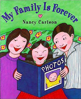 of a mackenzie family novellabooks my family is forever by nancy carlson in asianweek