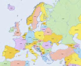 where is in europe map northern europe destination maps