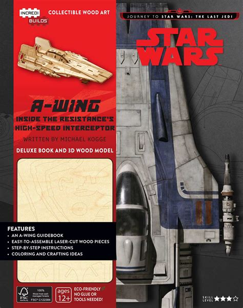 the of wars the last jedi books incredibuilds journey to wars the last jedi a wing