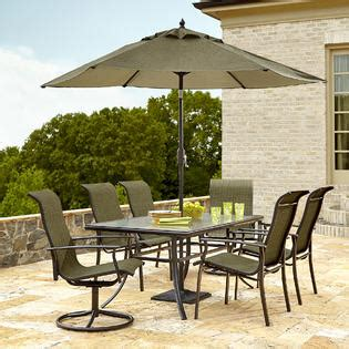 Garden Oasis Harrison by Garden Oasis Harrison 7 Dining Set In Green Sears